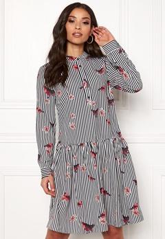 Rut & Circle Flower Stripe Dress Stripe Bubbleroom.se
