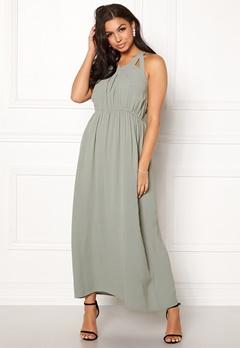 Rut & Circle Hip Long Dress Green Stone Bubbleroom.se