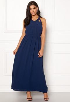Rut & Circle Hip Long Dress Midnight Blue Bubbleroom.se