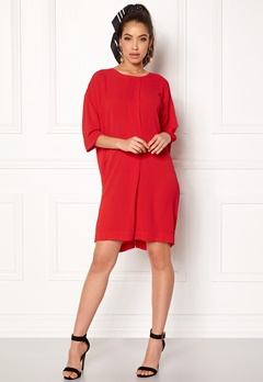 Rut & Circle Isabelle Dress Red Bubbleroom.se