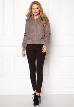 Rut & Circle Kate Bomber Jacket Lt Taupe Bubbleroom.se