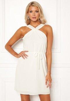 Rut & Circle Knot Neck Dress 100 White Bubbleroom.se