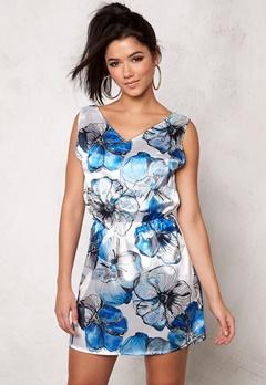 Rut & Circle Lesly Dress Blue Comb Bubbleroom.se