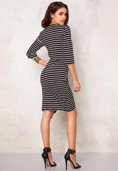 Rut & Circle Lisa Dress Black Stripe Bubbleroom.fi