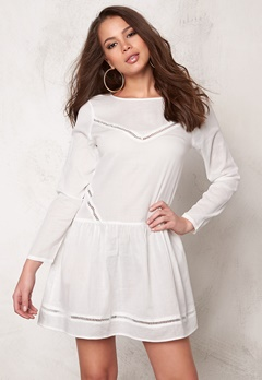 Rut & Circle Masie Dress Creme Bubbleroom.no