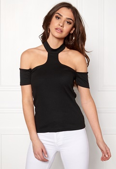 Rut & Circle Mia Neck Strap Top 001 Black Bubbleroom.se