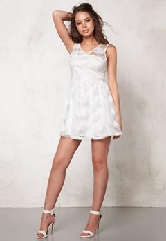 Rut & Circle Michelle Dress White Bubbleroom.se