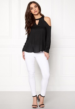 Rut & Circle Micken Blouse 001 Black Bubbleroom.fi