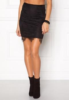 Rut & Circle Nadia lace skirt 001 Black Bubbleroom.se