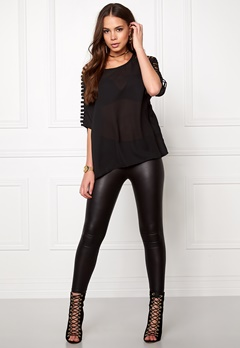 Rut & Circle Nicolina Top Black Bubbleroom.no