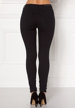 Rut & Circle Olivia Black High Jeans 001 Black Bubbleroom.fi