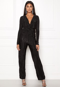 Rut & Circle Pleated Jumpsuit Black Bubbleroom.se