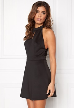 Rut & Circle Siri back lace dress 001 Black Bubbleroom.se