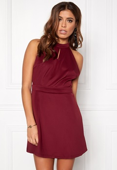 Rut & Circle Siri back lace dress 258 Marsala Bubbleroom.se