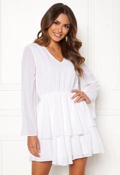 Rut & Circle Tuva Dress White Bubbleroom.se