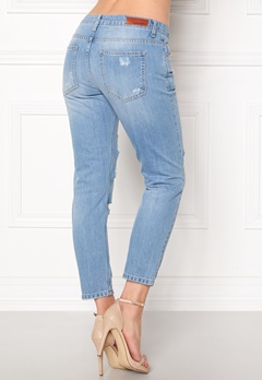 Rut & Circle Victoria Girlfriend Jeans LT Wash Bubbleroom.fi