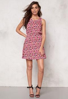 Sally & Circle Candy Dress Pink Comb Bubbleroom.se