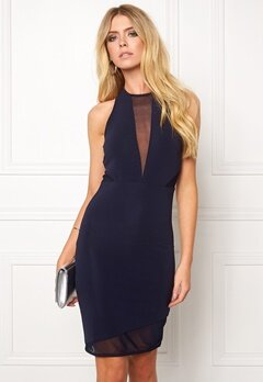 Sally & Circle Madisson Dress 007 Dk Navy Bubbleroom.se