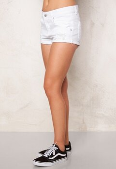 Sally & Circle Tiffany Denim Short White Bubbleroom.fi