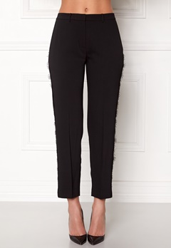 Samsøe & Samsøe Louisa Crop Pants Black Bubbleroom.no