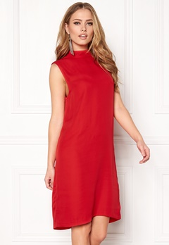 Samsøe & Samsøe Theta t-n ss Dress 10291 Racing Red Bubbleroom.fi