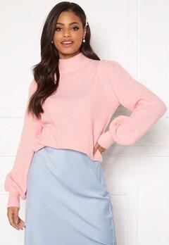 Sandra Willer X Bubbleroom Knitted sweater Light pink Bubbleroom.se