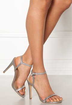 New Look Santorini Strappy Sandal Sølv Bubbleroom.no