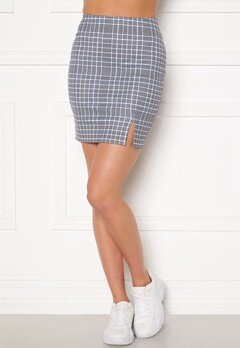 Sara Sieppi x Bubbleroom Mini Skirt Grey Bubbleroom.se