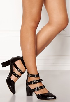 SARGOSSA Adore Heels Black With Gold Bubbleroom.se