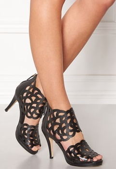SARGOSSA Inspire Leather Heels Black Nappa Bubbleroom.se