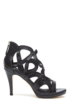 SARGOSSA Redefined Leather Heels Black Bubbleroom.se