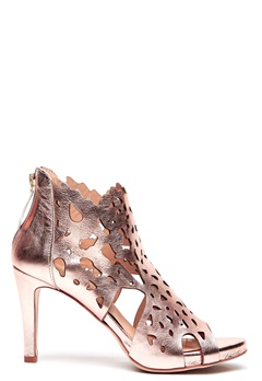 SARGOSSA Shades Nappa Leather Heels Rose Gold Bubbleroom.se