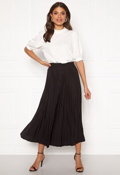 SELECTED FEMME Alexis MW Midi Skirt Black Bubbleroom.se
