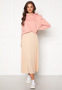 SELECTED FEMME Alexis MW Midi Skirt Sandshell Bubbleroom.se