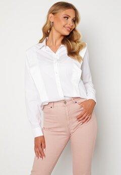 SELECTED FEMME Bello LS Shirt Bright White Bubbleroom.se