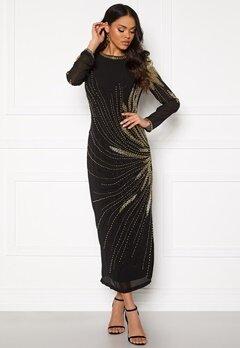 SELECTED FEMME Catalina LS Beaded Dress Black/Beading Bubbleroom.se