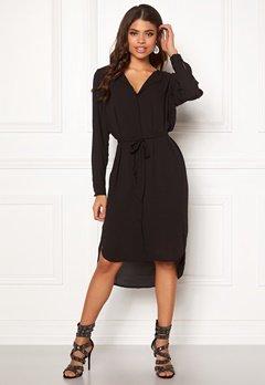 SELECTED FEMME Dynella L/S Dress Black Bubbleroom.se
