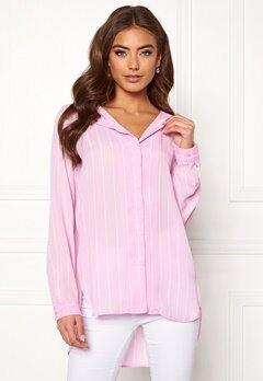 SELECTED FEMME Dynella stripe L/S Shirt Orchid Bouquet Bubbleroom.se