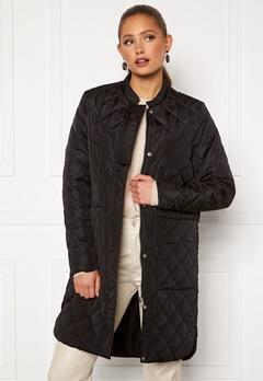 SELECTED FEMME Fillipa Quilted Coat Black Bubbleroom.se