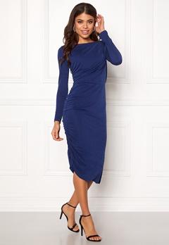SELECTED FEMME Helen LS Dress Blue Depths Bubbleroom.se
