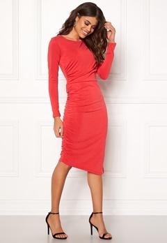 SELECTED FEMME Helen LS Dress True Red Bubbleroom.se