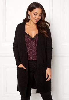 SELECTED FEMME Livana LS Knit Cardigan Black Bubbleroom.se
