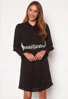 SELECTED FEMME Livia LS Short Dress Black Bubbleroom.se