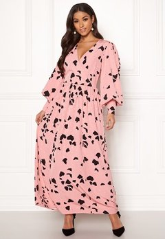 SELECTED FEMME Loretta LS Ankle Dress Bridal Rose Bubbleroom.se
