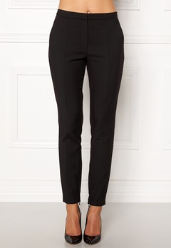 SELECTED FEMME Muse Cropped MW Pant Black Bubbleroom.se