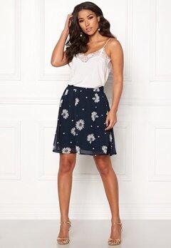 SELECTED FEMME Oriana MW Short Skirt Dark Sapphire Bubbleroom.se