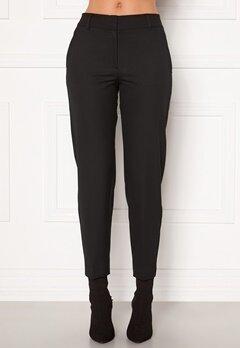 SELECTED FEMME Ria MW Cropped Pant Black Bubbleroom.se