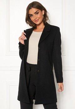 SELECTED FEMME Sasja Wool Coat Black Bubbleroom.se