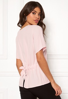 SELECTED FEMME Tanna SS Top Sepia Rose Bubbleroom.se