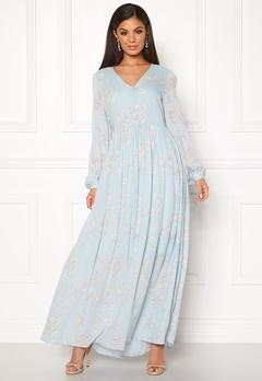 SELECTED FEMME Zamba L/S Maxi Dress Plein Air Bubbleroom.se